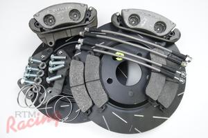 Ford Cobra Front Big Brake Upgrade Kit: 1g DSM