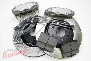 3000GT-VR4/Genesis Front Big Brake Upgrade Kit: 1g DSM
