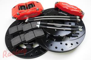 Wilwood 4-Piston Front Big Brake Upgrade Kit: 1g DSM