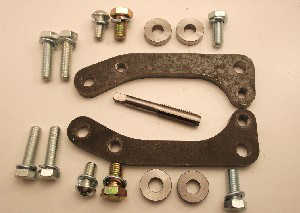 Hardware Kit to Install EVO 5-9 Front Big Brakes: 1g DSM/EVO 1-3