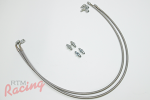 SS-Braided Brake Lines for 3g Brake Master Cylinder: 2g DSM