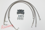 RTM SS-Braided Brake Lines/ABS Delete Kit: 2g DSM