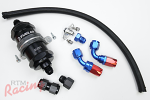 RTM Upgraded Fuel Feed Line Kit (-8AN from Filter to Rail): DSM/EVO