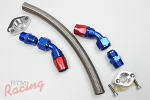 RTM -12AN Turbo Oil Return Line for Holset Turbos