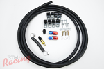 RTM Upgraded Fuel Return Line Kit (from AFPR to Tank): DSM/EVO