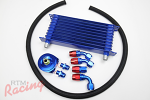 RTM Oil Cooler Kit (with -10AN Hose): DSM/EVO 1-3