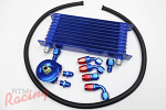 RTM Oil Cooler Kit (with -8AN Hose): DSM/EVO 1-3