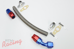 RTM -10AN Turbo Oil Return Line (-10AN Fittings)