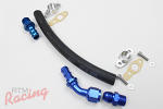 RTM -10AN Turbo Oil Return Line (1/2 NPT Fittings)