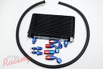 RTM Transmission Oil Cooler Kit (with -8AN Hose): DSM