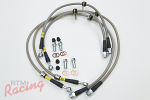 StopTech Stainless Braided Brake Lines: EVO 10