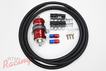 RTM Upgraded Fuel Feed Line Kit (-6 AN from Tank to Filter): DSM/EVO