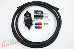 RTM Upgraded Fuel Feed Line Kit (-8 AN from Tank to Filter): DSM/EVO