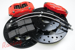 Wilwood 4-Piston Front Big Brake Upgrade Kit: EVO 1-3
