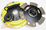 ACT 2600 Clutch Kit with Solid Hub 6-Puck Disc: Mitsu