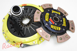 ACT Heavy-Duty Monoloc Clutch Kit with Sprung Hub 6-Puck Disc: EVO 10