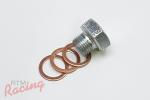 Turbo Water Pipe Blockoff Plug: 1g DSM