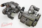 Rear Brake Calipers: 1g DSM FWD