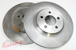 """Whitebox"" 13"" Cobra Rotors for Front Big Brakes: EVO 1-3"
