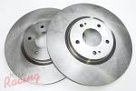 """""""Whitebox"""" Plain Front Brake Rotors: EVO 5-9"""
