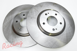 """Whitebox"" Rotors for EVO5-9 (Brembo) Front Big Brakes: DSM"