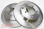 """Whitebox"" Rotors for EVO5-9 Rear Big Brakes: 2g DSM"