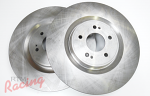 """Whitebox"" Plain Front Brake Rotors: EVO 10"