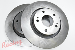 """Whitebox"" Rotors for Outlander Front Big Brakes: DSM"