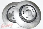 """Whitebox"" Plain Rotors for Front Brakes: Stealth/3000GT (1994-99)"