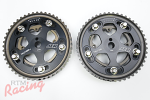 "AEM ""Tru-Time"" Adjustable Cam Gears (Black): DSM/EVO 1-3"