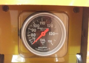 Autometer Oil Temperature Gauges