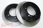 StopTech Premium Rear Brake Rotors: 2g DSM