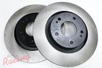 Centric Premium Rotors for Outlander Front Big Brakes: EVO 1-3/Galant