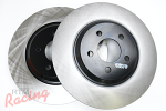 "Centric Premium Cryo-Treated 13"" Cobra Rotors for Front Big Brakes: EVO 1-3"