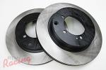 Centric Premium Rear Brake Rotors: EVO 5-9