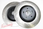 Centric Premium Front Brake Rotors: EVO 10