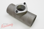 """2.5"""" Cast Aluminum Pipe with Greddy BOV Flange"""