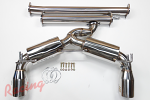 "J2 Engineering 3"" Stainless Catback Exhaust: EVO 10"