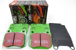 EBC Greenstuff Pads for EVO5-9 Rear Big Brakes: 2g DSM