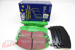 EBC Greenstuff Pads for DSM Dual-Piston Front Brakes: DSM/EVO 1-3