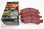 EBC Redstuff Pads for Cobra Front Big Brakes: DSM/EVO 1-3