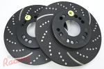 EBC Slotted & Dimpled Rotors for DSM Dual-Piston Front Brakes: DSM