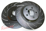 "EBC Slotted & Dimpled 13"" Cobra Rotors for Front Big Brakes: EVO 1-3"