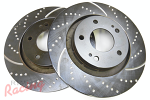 EBC Slotted & Dimpled Rotors for Outlander Front Big Brakes: DSM