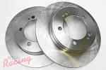 EBC Plain Rear Brake Rotors: 1g DSM