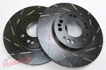 EBC Slotted Rotors for DSM Dual-Piston Front Brakes: DSM