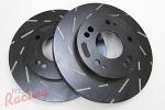 EBC Slotted Rotors for DSM Single-Piston Front Brakes: DSM