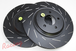 "EBC Slotted 13"" Cobra Rotors for Front Big Brakes: DSM"