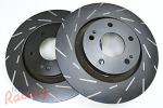 EBC Slotted Rotors for Outlander Front Big Brakes: DSM