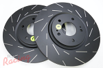 EBC Slotted Front Brake Rotors: EVO 5-9